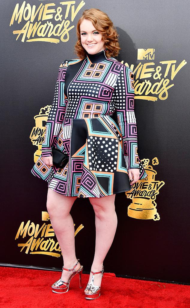 Shannon Purser, 2017 MTV Movie And TV Awards, Arrivals