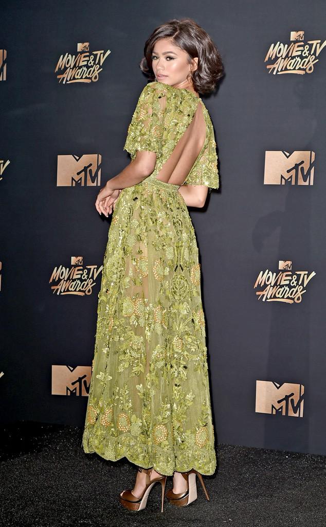 ESC: Zendaya, 2017 MTV Movie And TV Awards