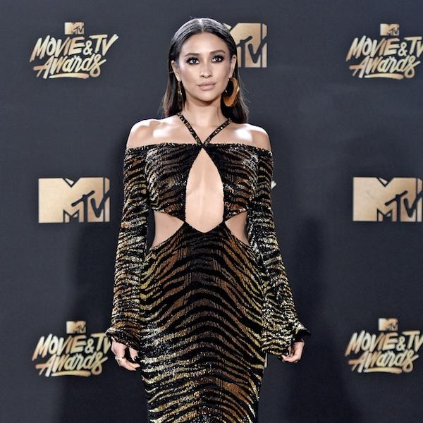 Shay Mitchell From MTV Movie & TV Awards 2017: Red Carpet