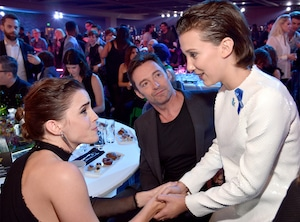 Emma Watson, Hugh Jackman, Millie Bobby Brown, Stranger Things Kids at MTV Awards