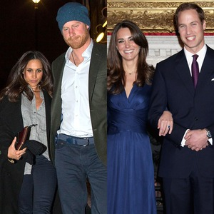 Meghan Markle, Prince Harry, Kate Middleton, Prince William