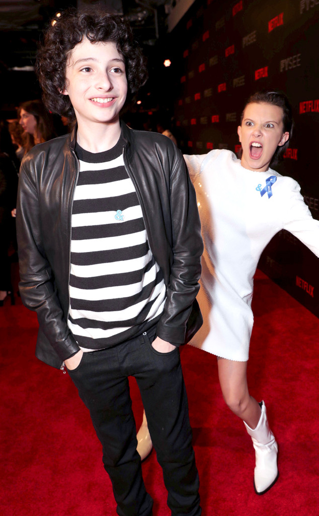 Finn Wolfhard, Millie Bobby Brown