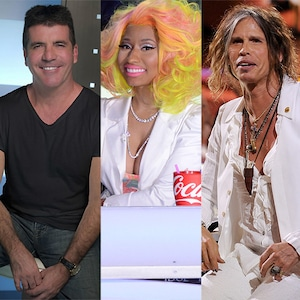American Idol, Simon Cowell, Nicki Minaj, Steven Tyler, Jennifer Lopez