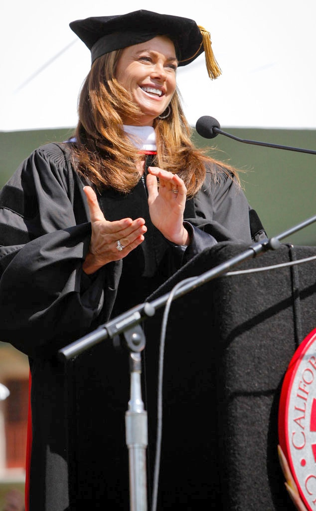 Kathy Ireland -  Cal State Channel Islands recognized the entrepreneur and supermodel with an honorary degree!