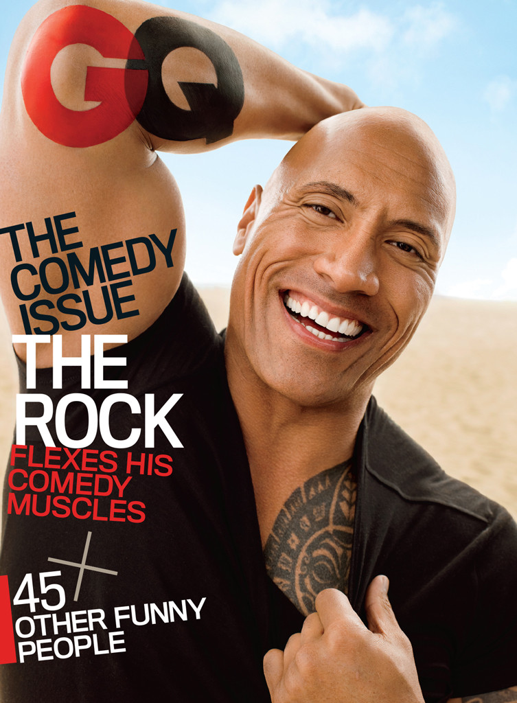 Dwayne Johnson, GQ