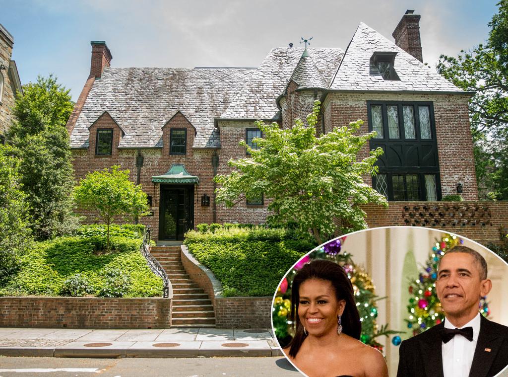 Barack Obama,Michelle Obama, Washington House