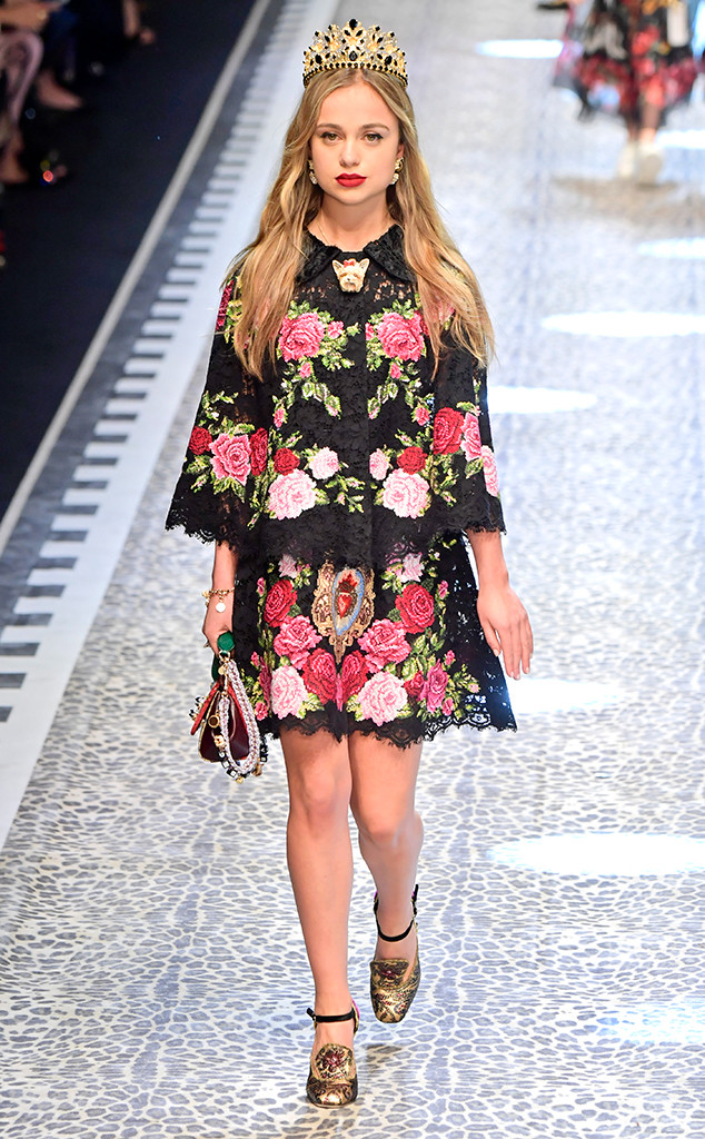 Lady Amelia Windsor, Dolce & Gabbana 2017