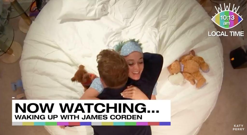 Katy Perry, James Corden, YouTube