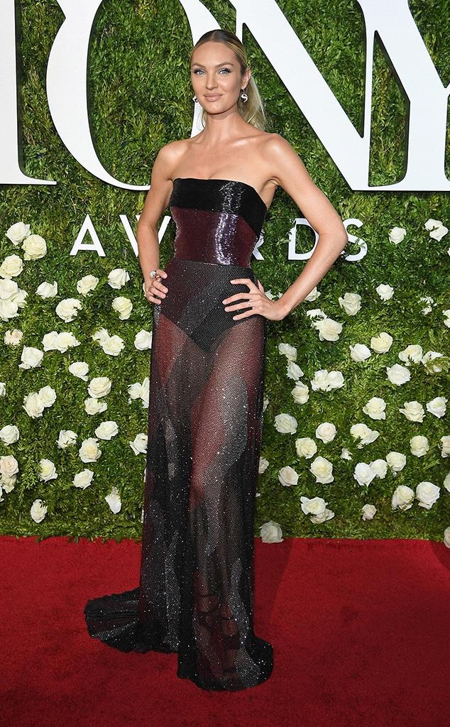 Candice Swanepoel, 2017 Tony Awards, Arrivals