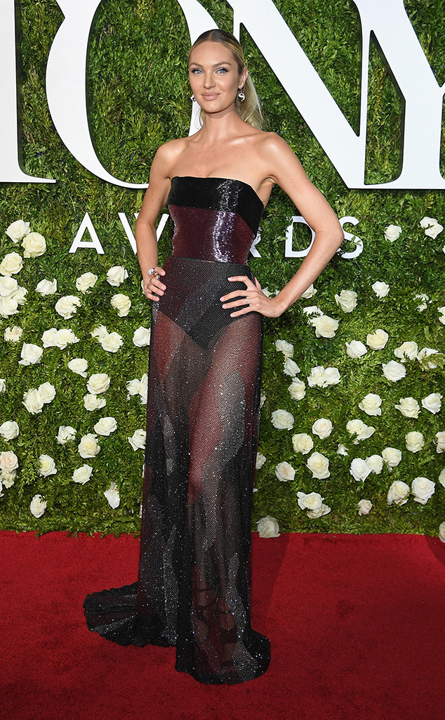 Candice Swanepoel, 2017 Tony Awards, Arrivals