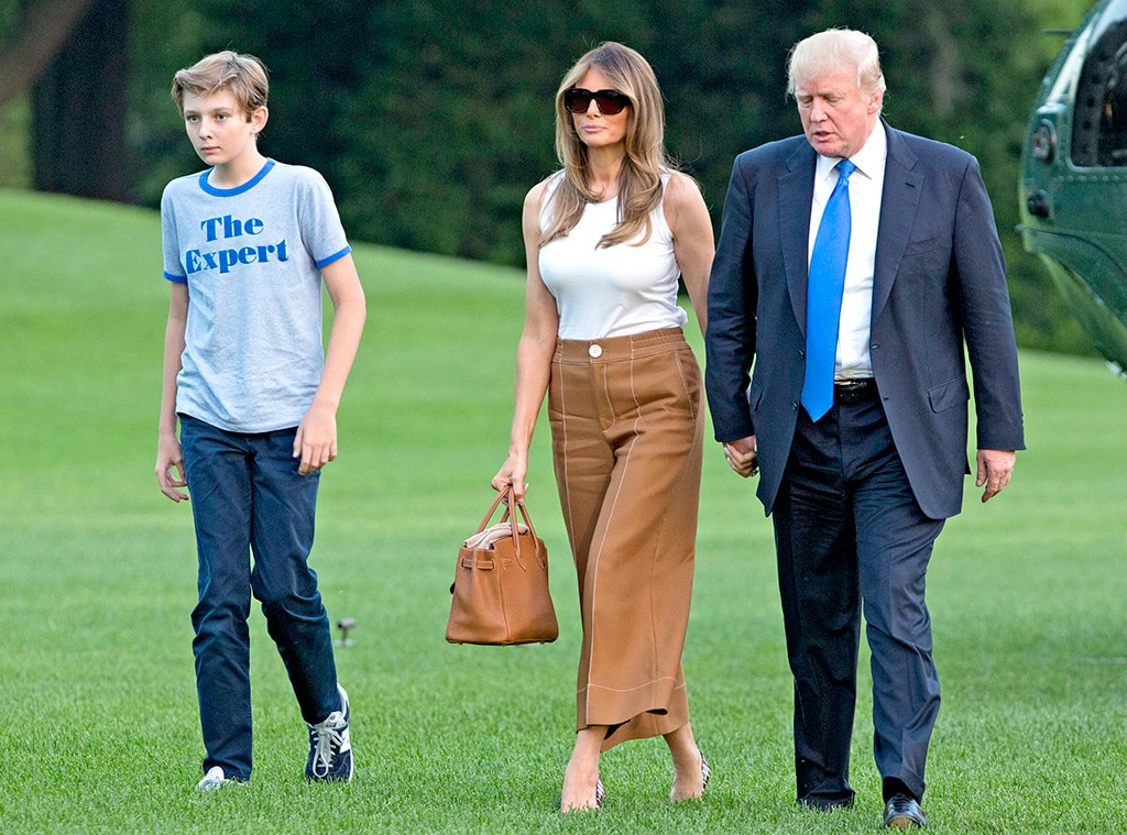 how barron trump s white house life is different and the same as rh eonline com