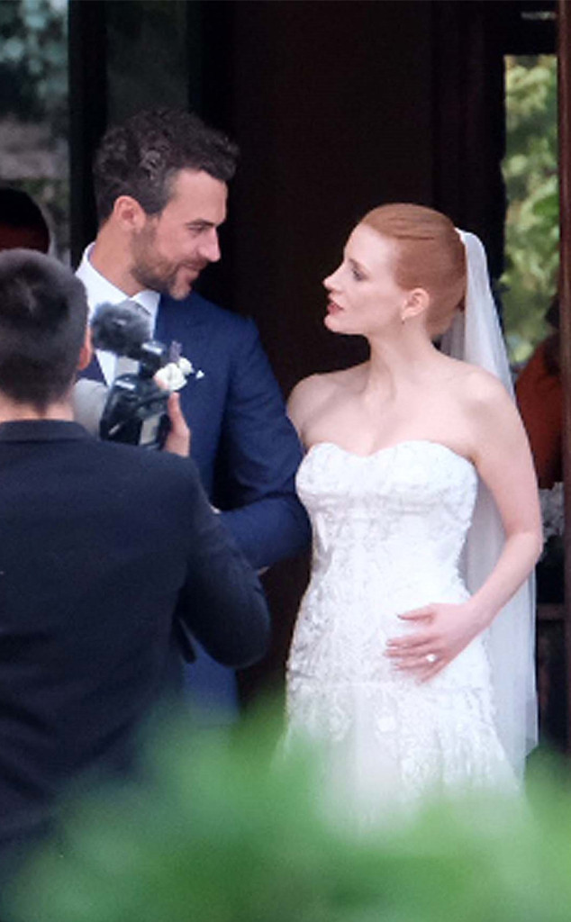 Jessica Chastain, Gian Luca Passi