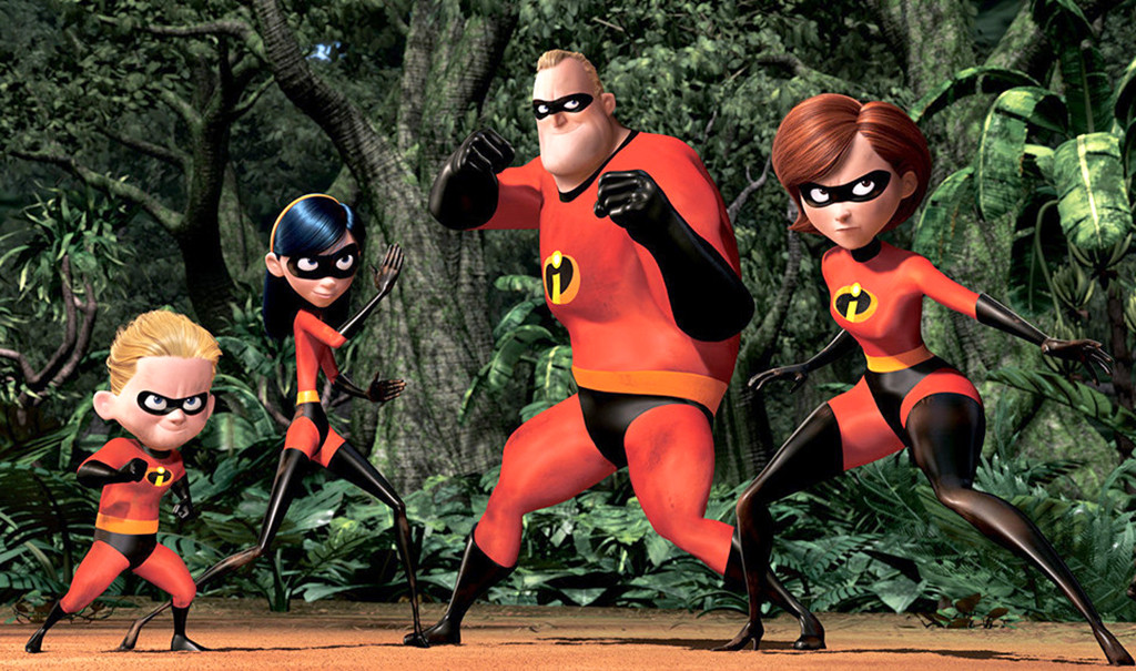 The Incredibles, Bob Parr, Mr. Incredible, Best Animated Dads