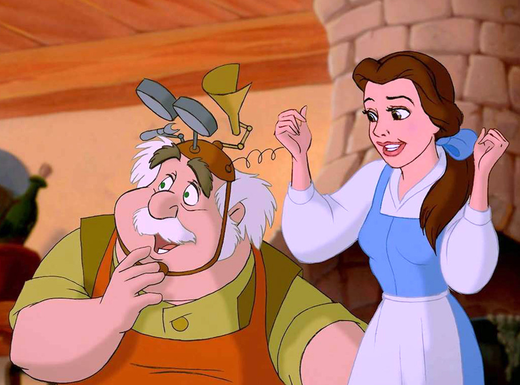 Beauty and the Beast, Maurice, Best Animated Dads