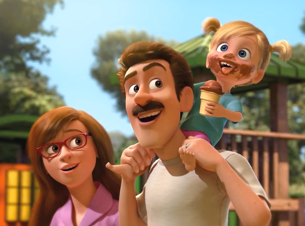 Riley U0026 39 S Father  Inside Out From Best Animated Dads