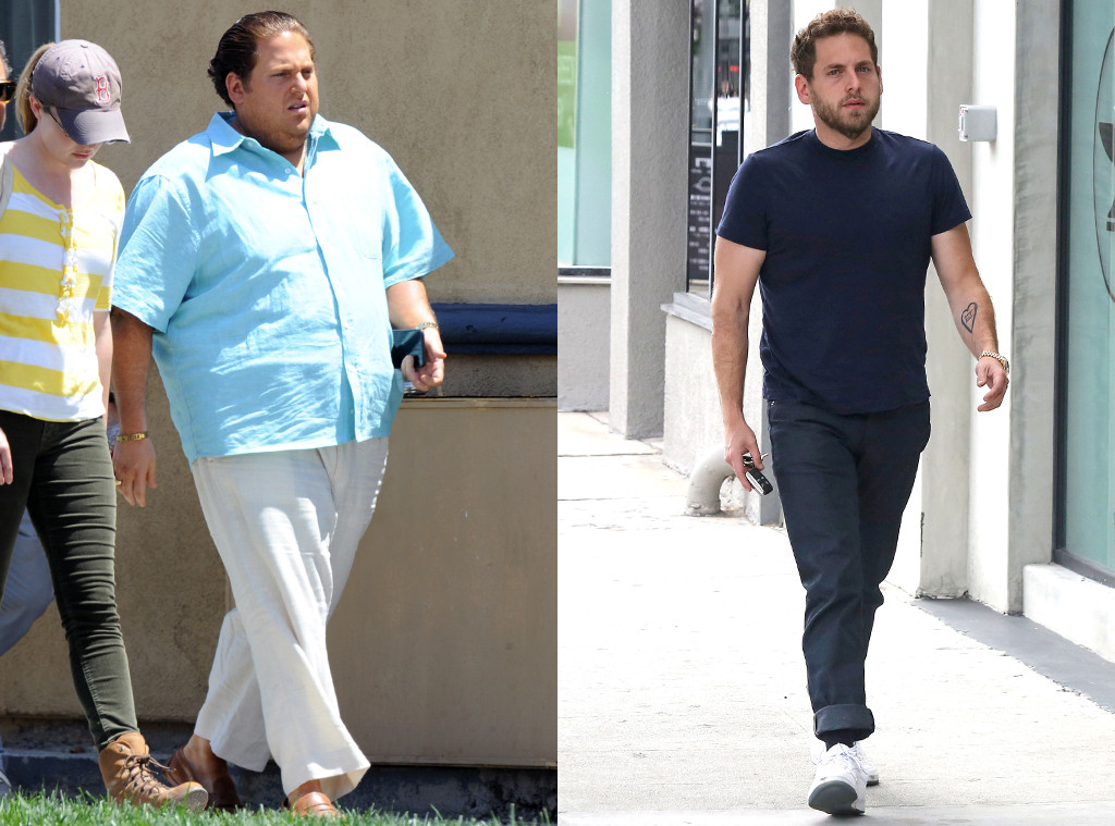jonah hill and his bulging biceps serve up major fitness