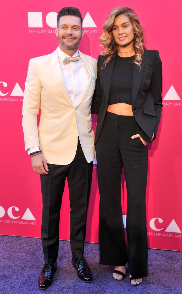 Ryan Seacrest, Shayna Taylor