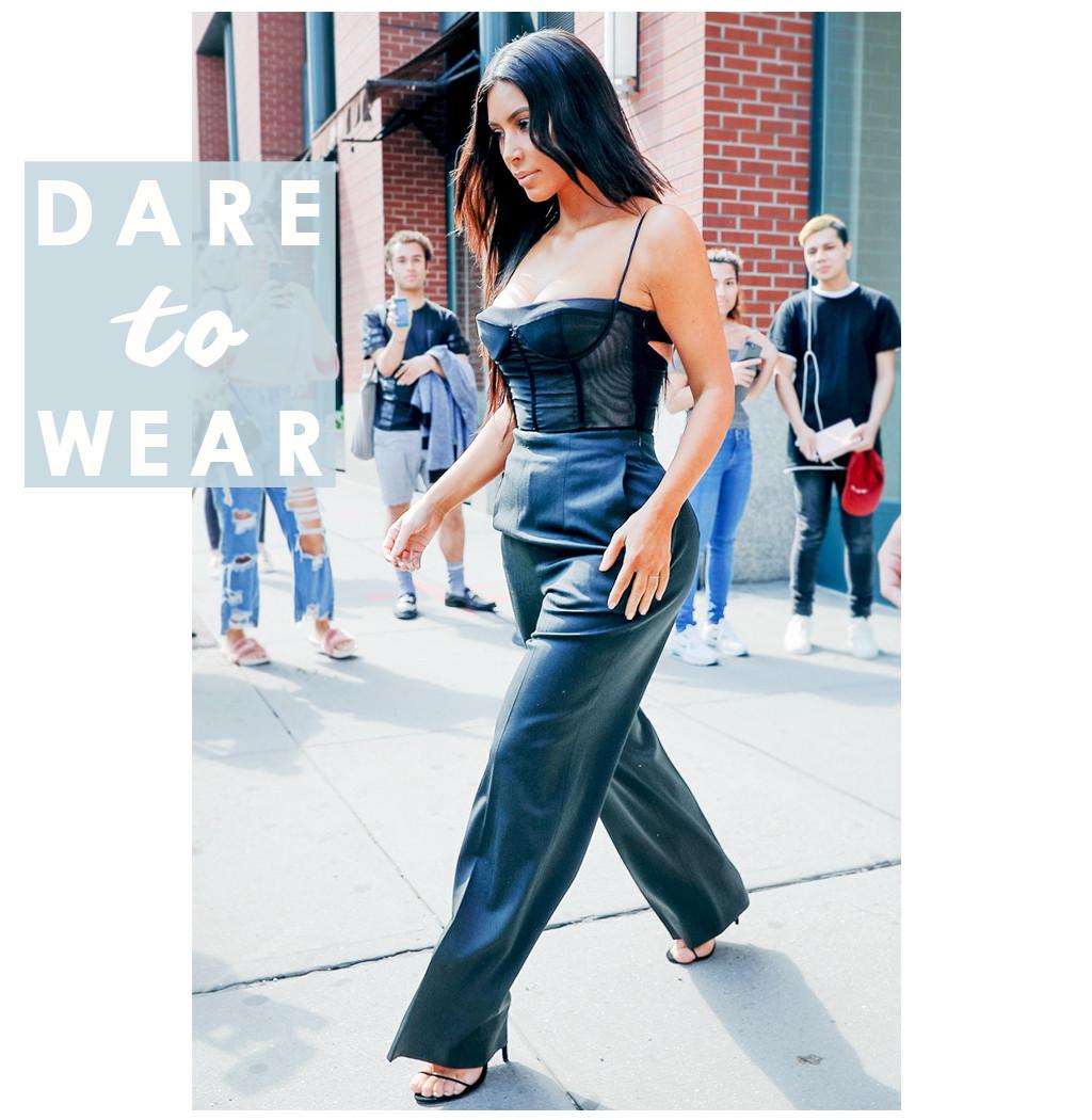 ESC: Kim Kardashian, Dare to Wear