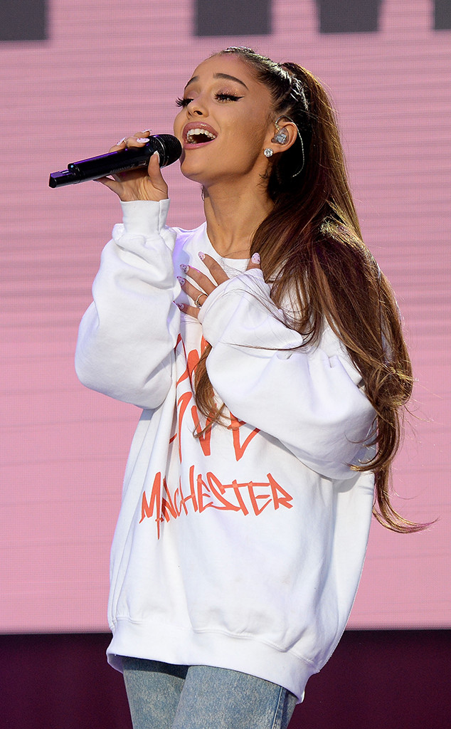 One Love Manchester benefit concert, Ariana Grande