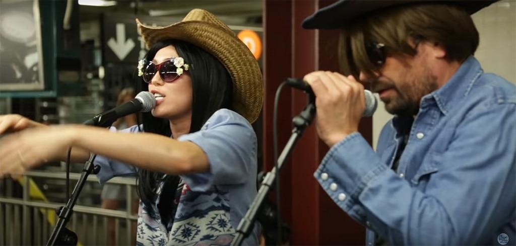 Miley Cyrus, Jimmy Fallon, Subway, Tonight Show