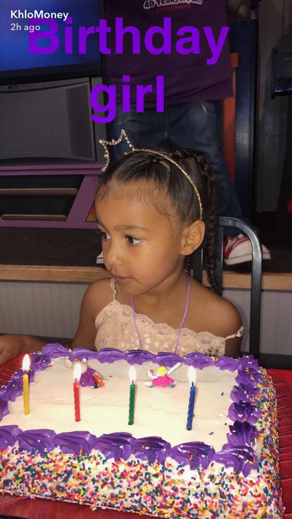 North West Celebrates 4th Birthday Surrounded By Kardashian Family