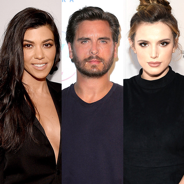 Kourtney Kardashian, Scott Disick, Bella Thorne