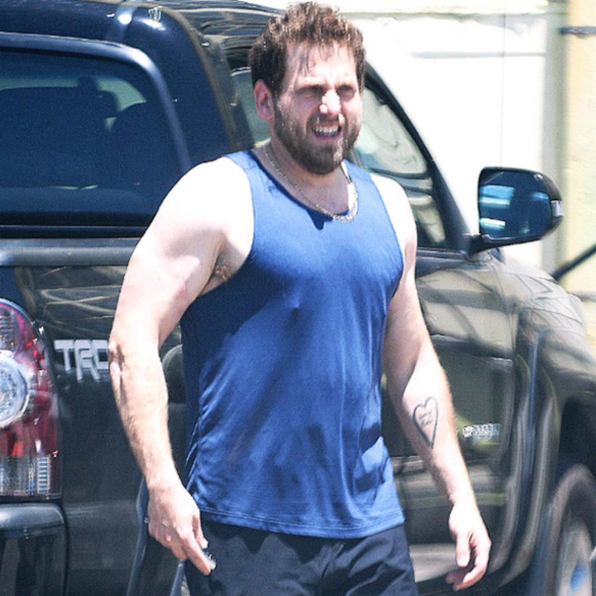 Jonah Hill and His Bulging Biceps Serve ...
