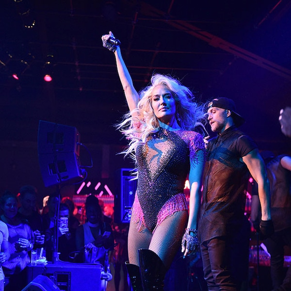 Erika Jayne From Musicians Performing Live On Stage
