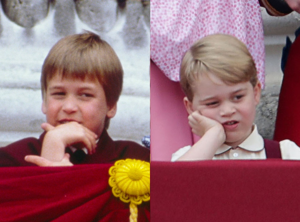 Prince George, Prince William, Trooping the Colour