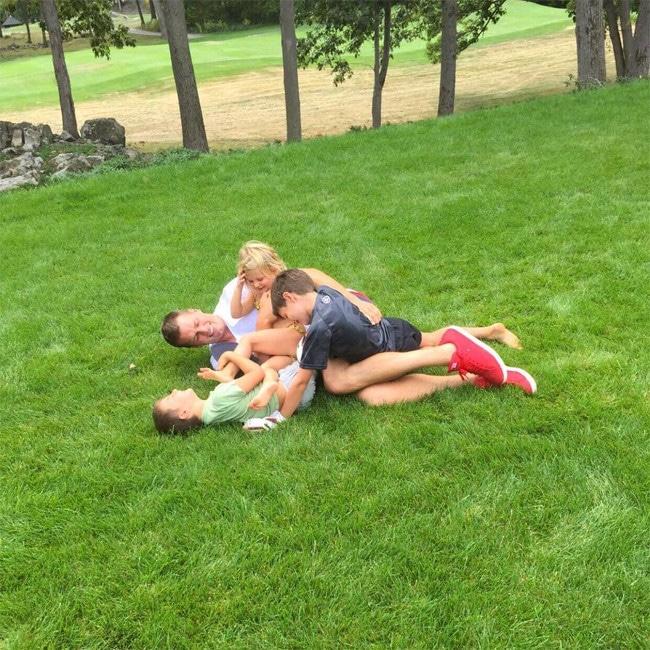 Gisele Bündchen, Tom Brady, Kids, Vivian, Benjamin, Father's Day 2017