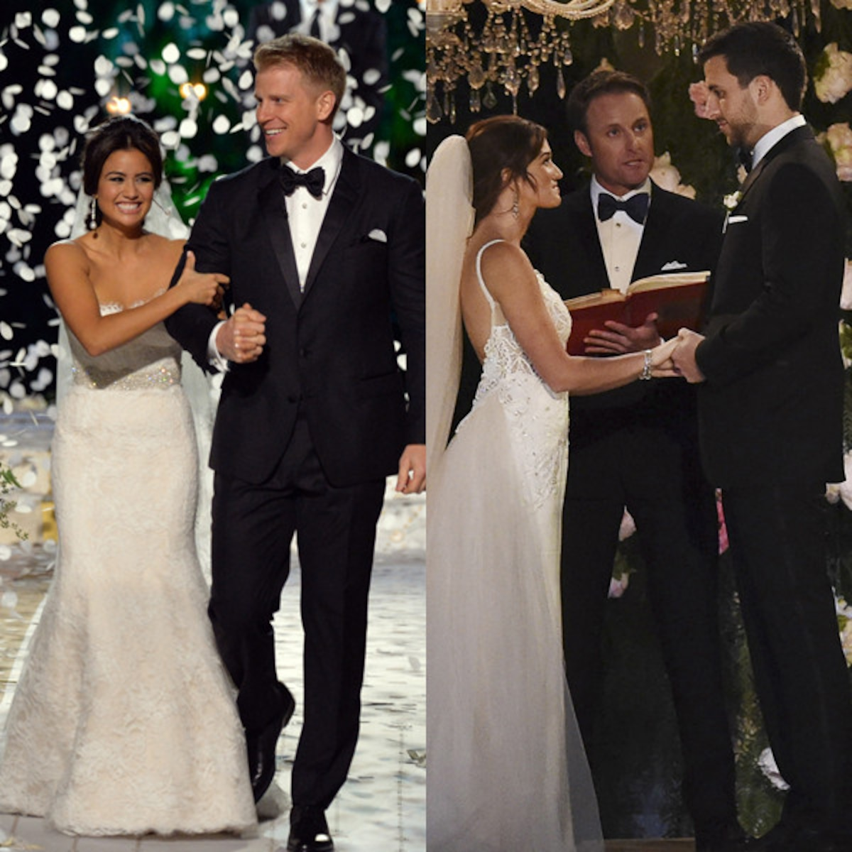 Look Back On All Of The Bachelor S Televised Weddings E Online