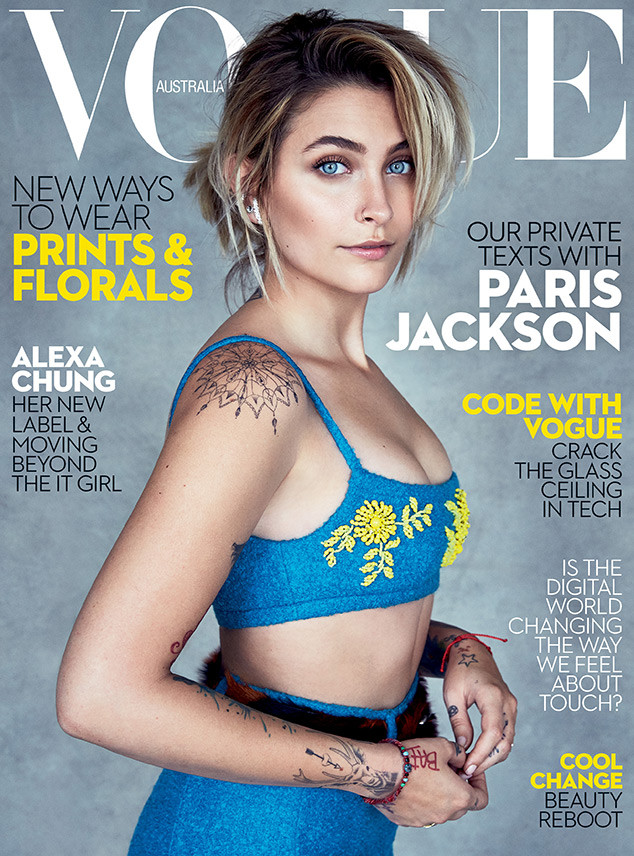 Paris Jackson, Vogue Australia