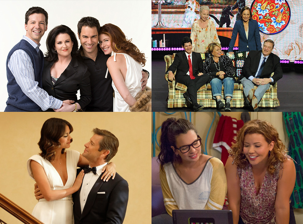 Revivals, Will & Grace, Roseanne, Dynasty, One Day at a Time