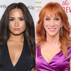 Demi Lovato, Kathy Griffin