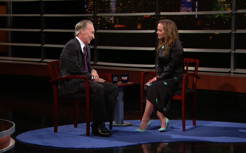 Real Time with Bill Maher, Leah Remini