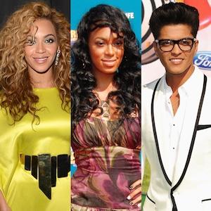 Beyonce, Solange, Bruno Mars, BET Awards