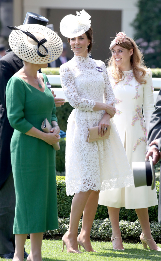 Kate Middleton Gives Us Wedding Flashbacks With Her Royal Ascot Look