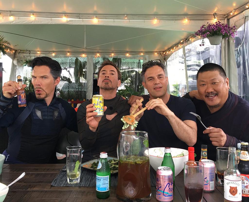 Benedict Cumberbatch, Robert Downey Jr., Mark Ruffalo, Benedict Wong