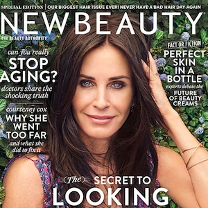 Courteney Cox, NewBeauty