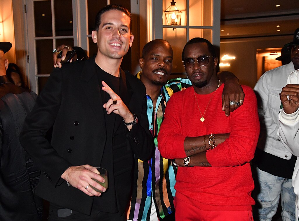 G Eazy Diddy From Diddy S Star Studded House Party E News