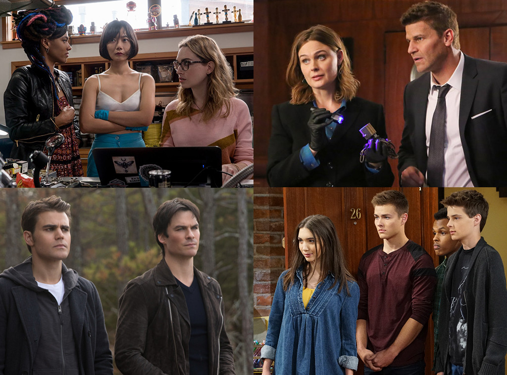 Cancelled Shows, Sense8, Girl Meets World, Vampire Diaries, Bones