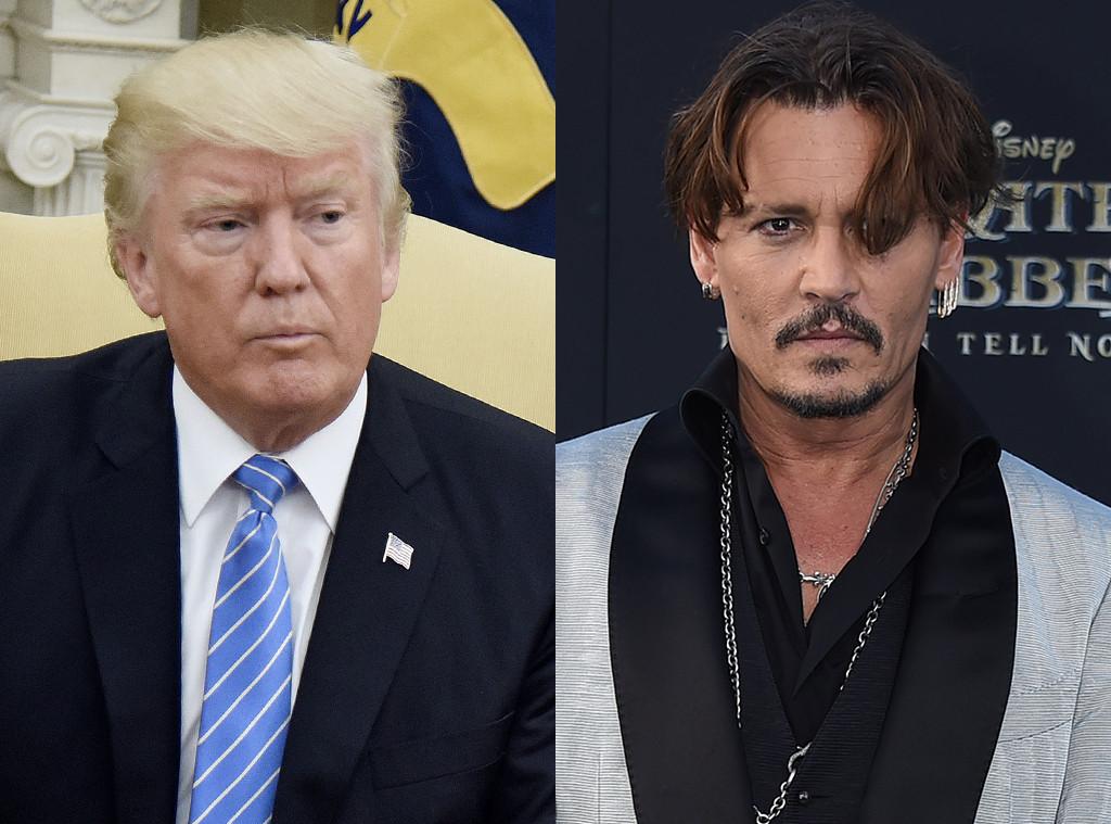 Donald Trump, Johnny Depp