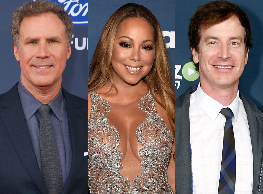 Will Ferrell, Mariah Carey, Rob Huebel