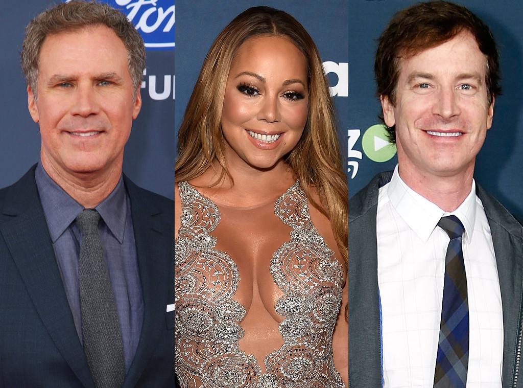 Will Ferrell, Mariah Carey, Rob Huebel
