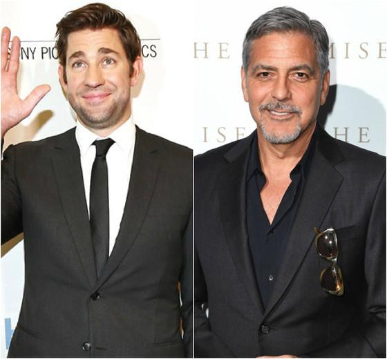 John Krasinski, George Clooney