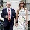 Melania Trump, Donald Trump, Congressional Picnic