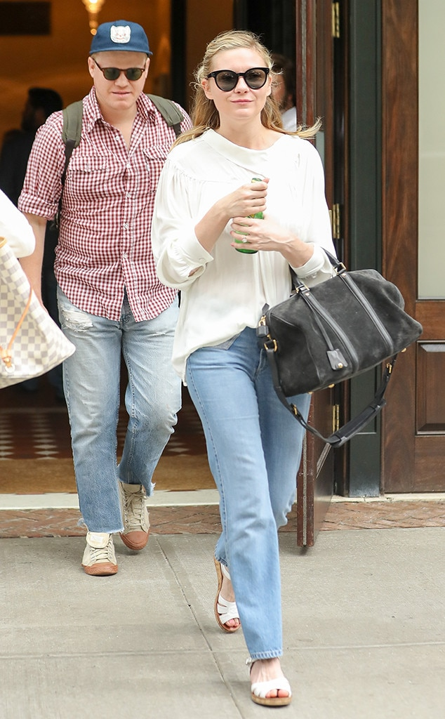 Kirsten Dunst & Jesse Plemons -  The Bring It On actress andthe Game Night actor  welcomed  their first baby boy, Ennis Howard Plemons, into the world in May after months of  speculation  about Kirsten's pregnancy.