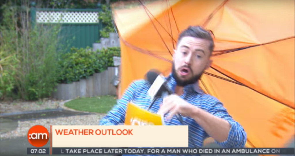 Deric Hartigan, Weatherman, Blown Away, YouTube