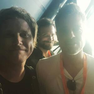 Brad Pitt, Bradley Cooper, Photobomb, Glastonbury 2017