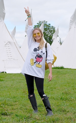 Margot Robbie, Glastonbury Festival